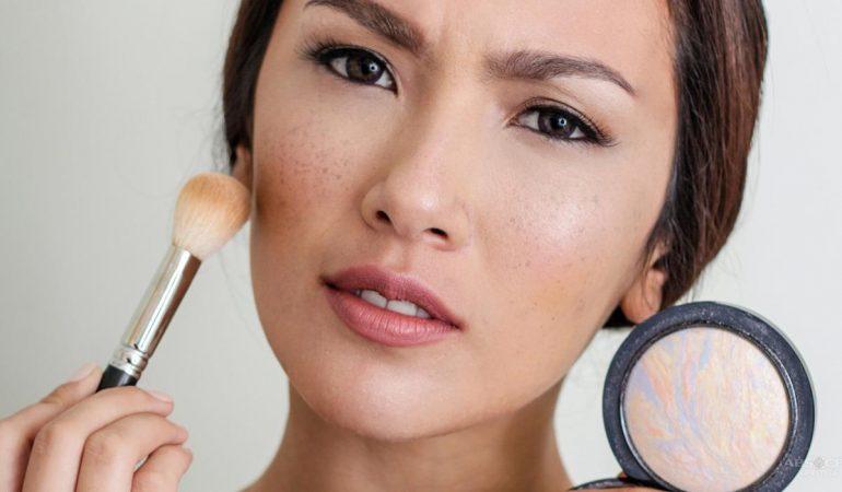 Contouring vs. Strobing. Gesichtsmodellieren Schritt für Schritt
