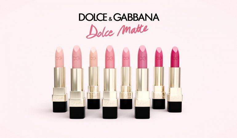 Neue matte Lippenstifte Dolce & Gabbana: Miss Dolce, Dolce Rosa, Dolce Mamma