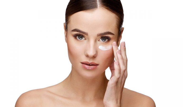 Pflege der Haut um die Augen – Cremes DIY
