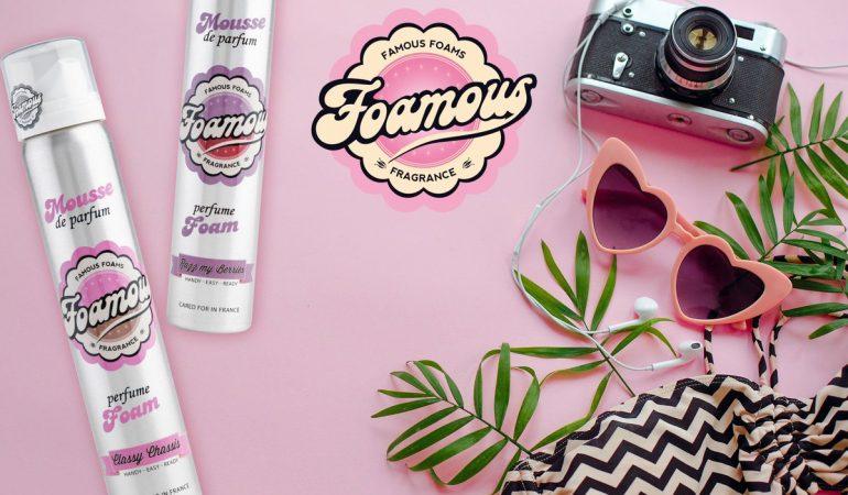Foamous Schaum-Parfüms – Duft und Pflege in einem Produkt!