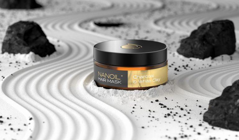 Nanoil Haarmaske mit Aktivkohle (2in1) – Reinigung und Pflege der Haare