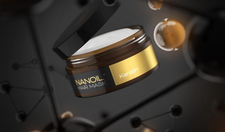 Nanoil Haarmaske mit Keratin – die beste Maske für strapazierte Haare