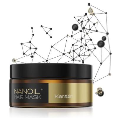 Nanoil Haarmaske mit Keratin